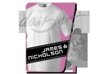Мъжки тениски James Nicholson