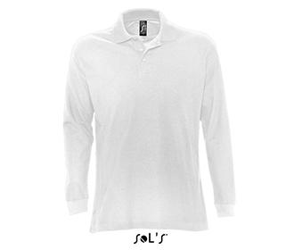 Мъжка блуза Sols 11328 - бяла