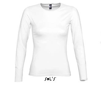 Дамска блуза Sols 11936 - бяла