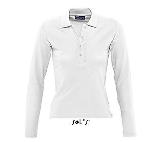 Дамска блуза Sols 11317 - бяла