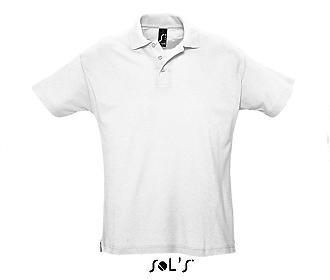 Тениска Sols 11342 - бяла