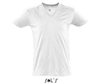 Тениска Sols 11155 - бяла