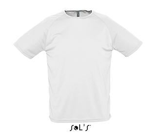 Тениска Sols 11939 - бяла