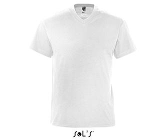 Тениска Sols 11150 - бяла