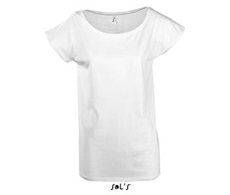 Тениска Sols 11398 - бяла
