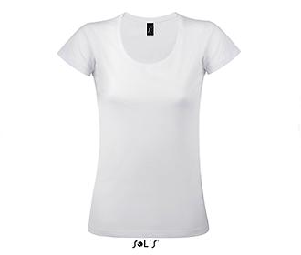 Тениска Sols 11402 - бяла