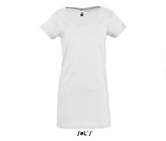 Тениска Sols 11392 - бяла