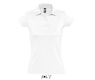 Тениска Sols 11376 - бяла
