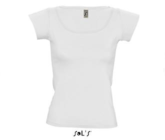 Тениска Sols 11385 - бяла