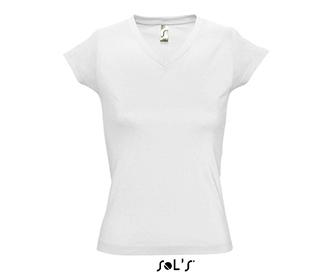 Тениска Sols 11388 - бяла