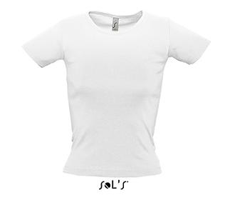 Тениска Sols 11830 - бяла