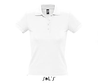 Тениска Sols 11310 - бяла