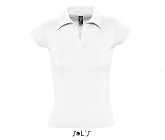 Тениска Sols 11325 - бяла